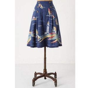 Odille sailboat skirt